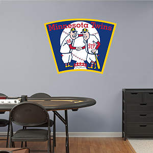 Minnesota Twins Classic Logo Fathead Wall Decal