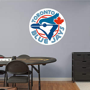 Toronto Blue Jays Classic Logo Fathead Wall Decal