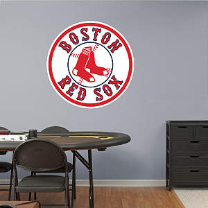 Boston Red Sox Alternate Logo Fathead Wall Decal