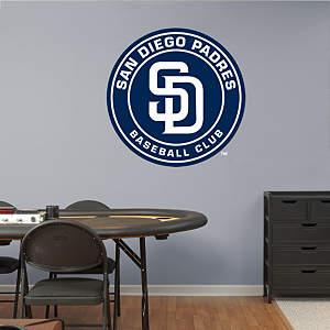 San Diego Padres Logo Fathead Wall Decal