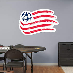 New England Revolution Logo Fathead Wall Decal