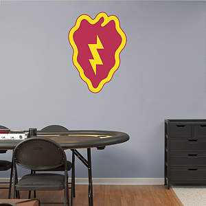25th Infantry Insignia Logo Fathead Wall Decal
