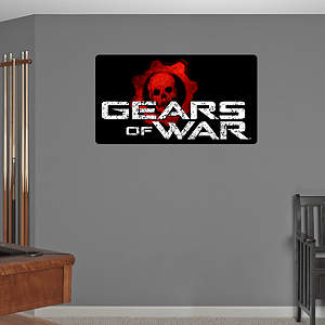 Gears of War Logo Fathead Wall Decal
