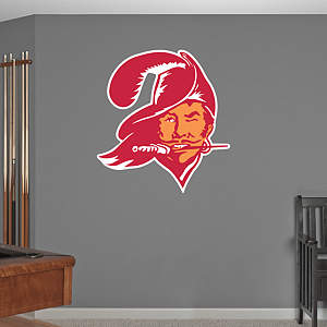 Tampa Bay Buccaneers Classic Logo Fathead Wall Decal