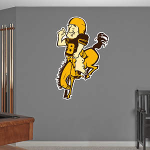 Denver Broncos Original AFL Logo Fathead Wall Decal
