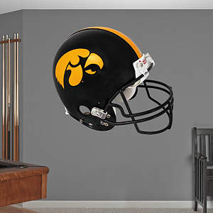 Iowa Hawkeyes Helmet Fathead Wall Decal