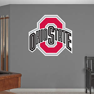 Ohio State Buckeyes Logo Fathead Wall Decal