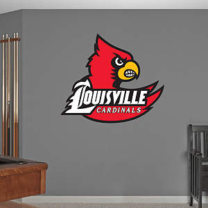 Louisville Cardinals Logo Fathead Wall Decal