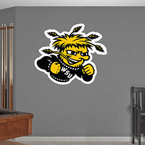 Wichita State Shockers Logo Fathead Wall Decal