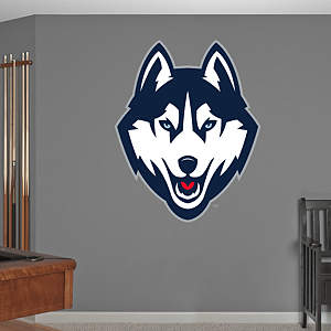 UConn Huskies 2013 Logo Fathead Wall Decal