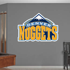 Denver Nuggets Logo Fathead Wall Decal
