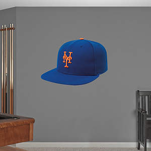 New York Mets Cap Fathead Wall Decal