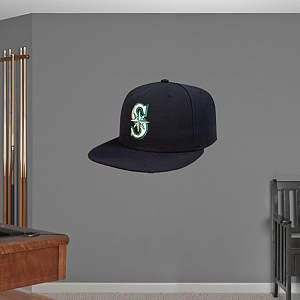 Seattle Mariners Cap Fathead Wall Decal