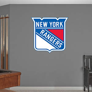 New York Rangers Logo Fathead Wall Decal