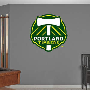 Portland Timbers Logo Fathead Wall Decal