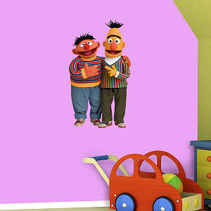 Bert & Ernie Fathead Wall Decal