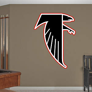 Atlanta Falcons Classic Logo Fathead Wall Decal