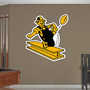 Pittsburgh Steelers Classic Logo Fathead Wall Decal