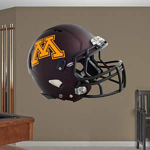 Minnesota Golden Gophers Helmet Fathead Wall Decal