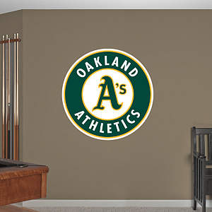 Oakland Athletics Logo Fathead Wall Decal