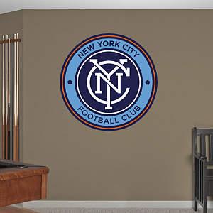 New York City FC Logo Fathead Wall Decal