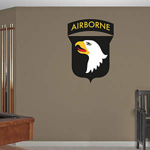 101st Airborne Insignia Fathead Wall Decal