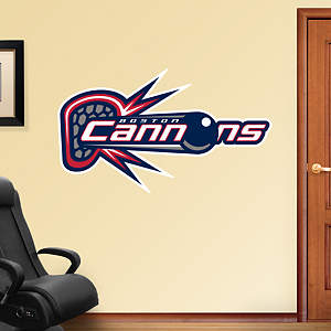 Boston Cannons Logo Fathead Wall Decal