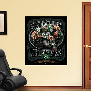 Turbo Jet - Grinding It Out Mural Fathead Wall Decal