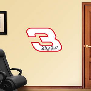 No. 3 Logo - Fathead Jr. Fathead Wall Decal