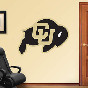 Colorado Buffaloes Logo Fathead Wall Decal