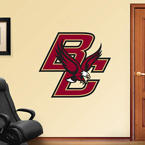 Boston College Logo Fathead Wall Decal