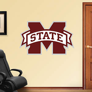 Mississippi State Bulldogs Logo Fathead Wall Decal