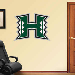 Hawaii Warriors Logo Fathead Wall Decal