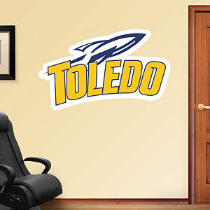 Toledo Rockets Logo Fathead Wall Decal