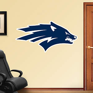 Nevada Wolf Pack Logo Fathead Wall Decal