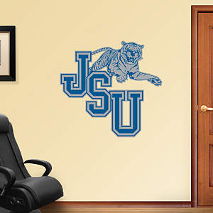 Jackson State Tigers Logo Fathead Wall Decal