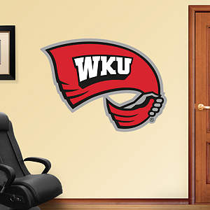 Western Kentucky Hilltoppers Logo Fathead Wall Decal