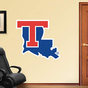 Louisiana Tech Bulldogs Logo Fathead Wall Decal