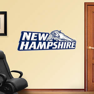 New Hampshire Wildcats Logo Fathead Wall Decal