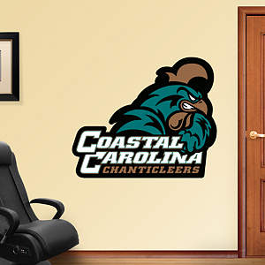 Coastal Carolina Chanticleers Logo Fathead Wall Decal