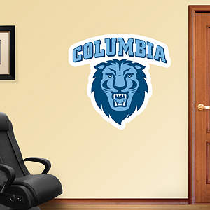 Columbia Lions Logo Fathead Wall Decal