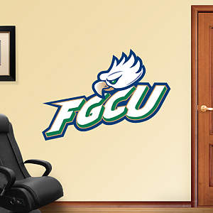 Florida Gulf Coast Eagles Logo Fathead Wall Decal
