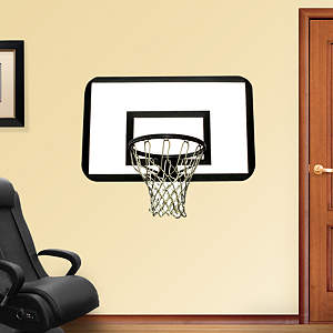 Basketball Backboard Fathead Wall Decal