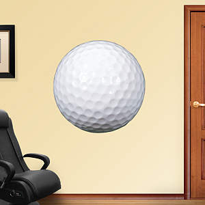 Assorted Golf Graphics Fathead Wall Decal