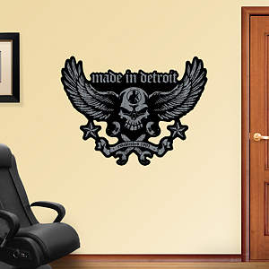 Made in Detroit Biker Wrenches Fathead Wall Decal