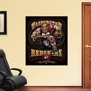 Grinding It Out Mural Fathead Wall Decal