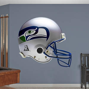 Seattle Seahawks Throwback Helmet Fathead Wall Decal