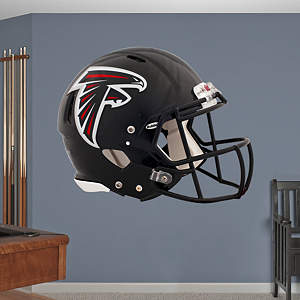 Atlanta Falcons Helmet Fathead Wall Decal