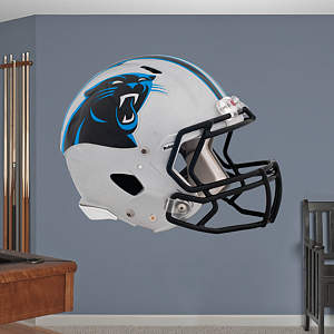 Carolina Panthers Helmet Fathead Wall Decal