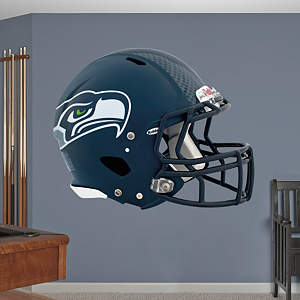 Seattle Seahawks Helmet Fathead Wall Decal